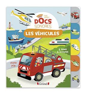 Livre Sonore Les Vehicules